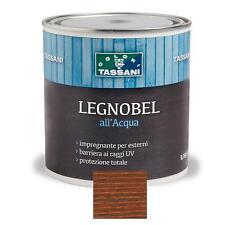 LEGNOBEL ALL'ACQUA TEAK-CASTAGNO 0,75 LT TASSANI IMPREGNANTE VERNICE PER LEGNO