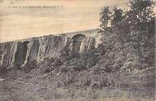 Woodcliff New Jersey View Of Palisades Bridge Cliffs Antique Postcard K13069