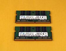 Samsung 16GB 2x 8GB PC4 17000S 2133P DDR4 2133MHz  Laptop SoDimm Memory