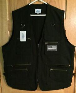Blue Stone Safety Concealment Black Vest  3XL 4XL USA