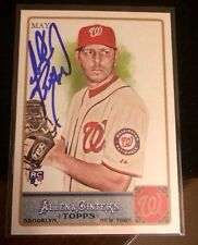YUNKESKY MAYA 2011 TOPPS ALLEN GINTERS Autographed Signed AUTO Baseball Card 172