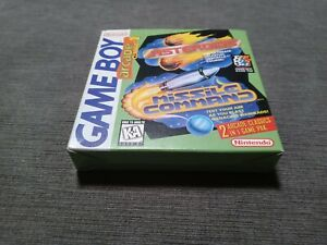 Arcade Classic No. 1: Asteroids/Missile Command (Game Boy, 1995) Box, Manual