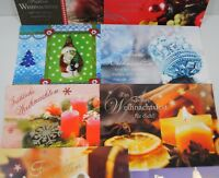 Weihnachtskarten - Postkarten - 10 Stck. - Weihnachtsgrußkarte - (11019)