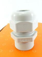 25 Stück OBO Bettermann Kabelverschraubung 2024330 V-TEC L PG21 LGR | IP68