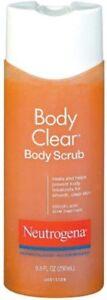 Neutrogena Body Clear Body Scrub, 8.5 Fluid Ounce (Pack of 3)