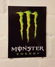 MONSTER sign metal Aluminium energy drink pub,bar,signs,man cave