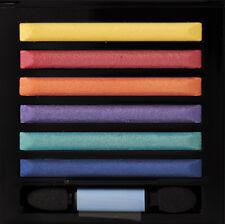 MILANI Metallic Runway Baked Eyeshadow Palette - 17 PRIMARY,Red,Yellow,Blue,Teal