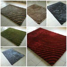 NEW Soft Fermo Rug Thick Pile Geometric Design Floor Decor Runner Carpets Mats