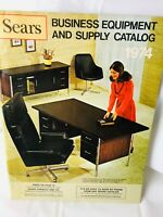 Vtg 1974 SEARS Catalog Business Equipment Supply Desk Chair Calculators 92 Pages