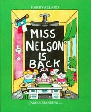 Kids fun paperback:Miss Nelson is Back-students awful=substitute Miss Swamp=lol