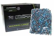 Empire Marballizer Case of 2000 Paintballs - .68 Caliber Brown Swirl Aqua Fill