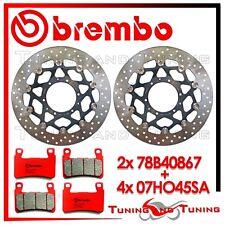 Dischi Freno Anteriore BREMBO + Pastiglie BREMBO SA HONDA CBR 600 RR 2003 2004