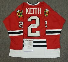 Autographed Duncan Keith Chicago Blackhawks Jersey. Authenticated