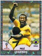 PELE  Panini Fifa World Cup 2018 Russia Foil Sticker # 680 Legends - Brazil