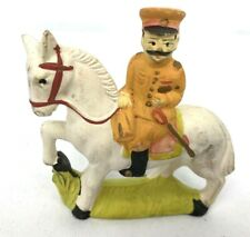 WWII Japanese Army Cavalry Officer Hand Painted Statue