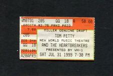 1990 Tom Petty the Heartbdreakers Lenny Kravitz Concert Ticket Stub Iowa City