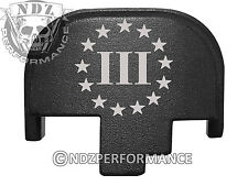 for Smith Wesson S&W M&P 9 40 45 Rear Slide Back Plate Blk 3 Percenter US 4