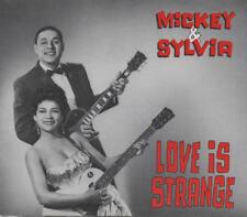 MICKEY & SYLVIA - Love Is Strange 2xCD Set bear family J.Leiber & M.Stoller  rar