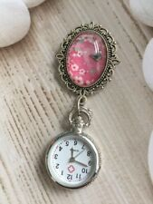 Genuine Design Vintage Brooch Nurse Fob Watch