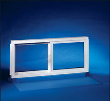 NEW Duo-Corp 3218SLID Double Slider Basement Window, 32 X 18 in Vinyl 1449677