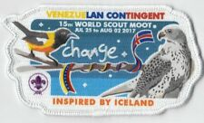Boy Scout of Venezuela Contingent Badge for World Scout Moot Iceland 2017