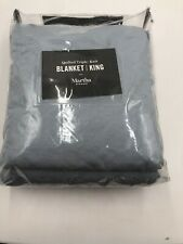 martha stewart Blanket / King  Quilted Triple -knit