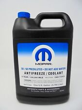 01-12 Jeep Dodge Chrysler Ram Fiat Engine Coolant Antifreeze Mopar Factory OEM