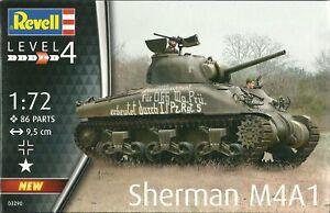 Revell 1/72 M4A1(76)W Sherman (RV3290)