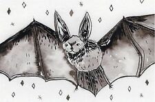 Bat 2 Vinilo Autoadhesivo con Para Tablet Laptop, decoración de cristal del azulejo, Arte Original