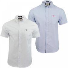 Mens Button Up Shirts Brave Soul Formal Casual Cotton Short Slim Fit Short Top
