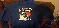 New York Rangers blue Pond Hockey Pullover Hoodie Small children's