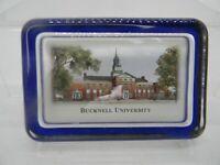 Bucknell University Eglomise Designs Glass Paperweight 4.5x3