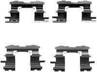 Mintex Pastilla de freno Delantero Accesorios Kit montaje mba1631-5 años