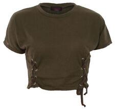 Camisas y tops de mujer de color principal negro de poliéster talla 38