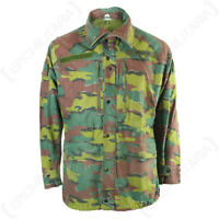 Original Belgian Army M90 Jacket - Genuine Military Surplus Jigsaw Coat Issued