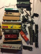 HO SCALE TRAIN ACCESSORY LOT ~ TRACKS ~ SWITCHES ~ CHECK PICS