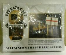 Threadcraft line design kit suspension bridge 1974 thread art still in box