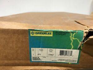 "Greenlee 843 Site-Rite Hand Conduit Bender Head for 1-1/4"" EMT & 1"" Rigid Bsh"