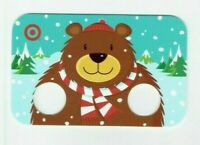 Target Gift Card Christmas Bear with Finger Holes for Arms / 2010 - No Value