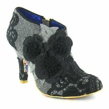 Irregular Choice Women's Textile Zip Ankle Boots