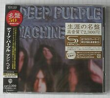 DEEP PURPLE - Machine Head JAPAN SHM CD OBI NEU RAR! WPCR-13233 SEALED