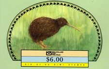NEW ZEALAND 1988 $6 KIWI BOOKLET 6x $1 Stamps SG.1490 Re:AA150R