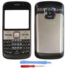 Black Fascia Full Housing Case Cover Faceplate Keypad for Nokia E5 E5-00 +Tools
