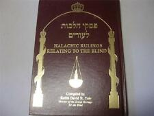 Halachic Rulings relating to the Blind. A Compendium of Jewish Law Responsa ...