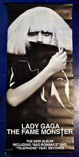 LADY GAGA official promo vinyl banner THE FAME MONSTER Star Is Born, Shallow