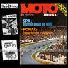 MOTO JOURNAL N°76 GRAND PRIX SPA KREIDLER RS 50 SIDE-CAR CROSS VESOUL 1972