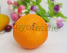 Artificial orange Grand - fruits oranges en plastique décorative Faux