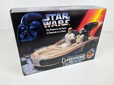 STAR WARS Power of the Force LANDSPEEDER Vintage Kenner1995 w/ Box