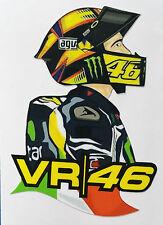 Valentino Rossi VR46 adesivo stickers Rossi Vale tributo adesivi MOTOGP