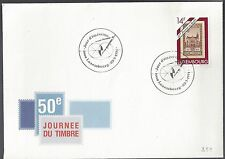 1991 Luxembourg FDC Journee de Timbre